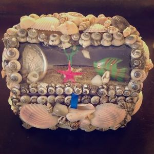 Handmade shell jewelry boxes
